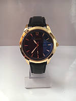 Мужские наручные часы Gucci (Гуччи), золотисто-черный цвет, фото 1