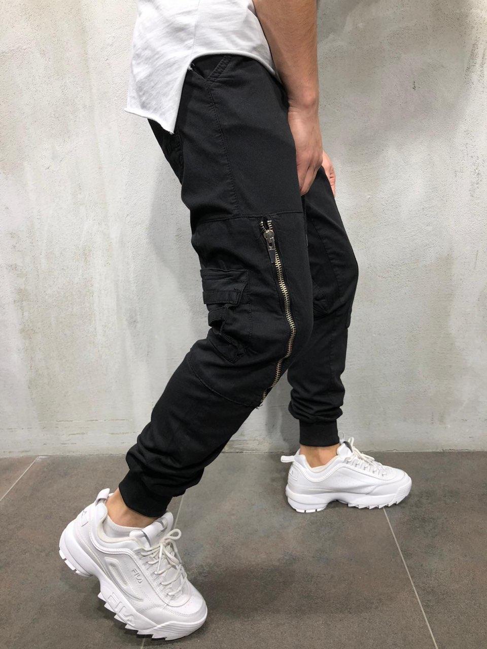 😝 Штаны- Мужские широкие штаны