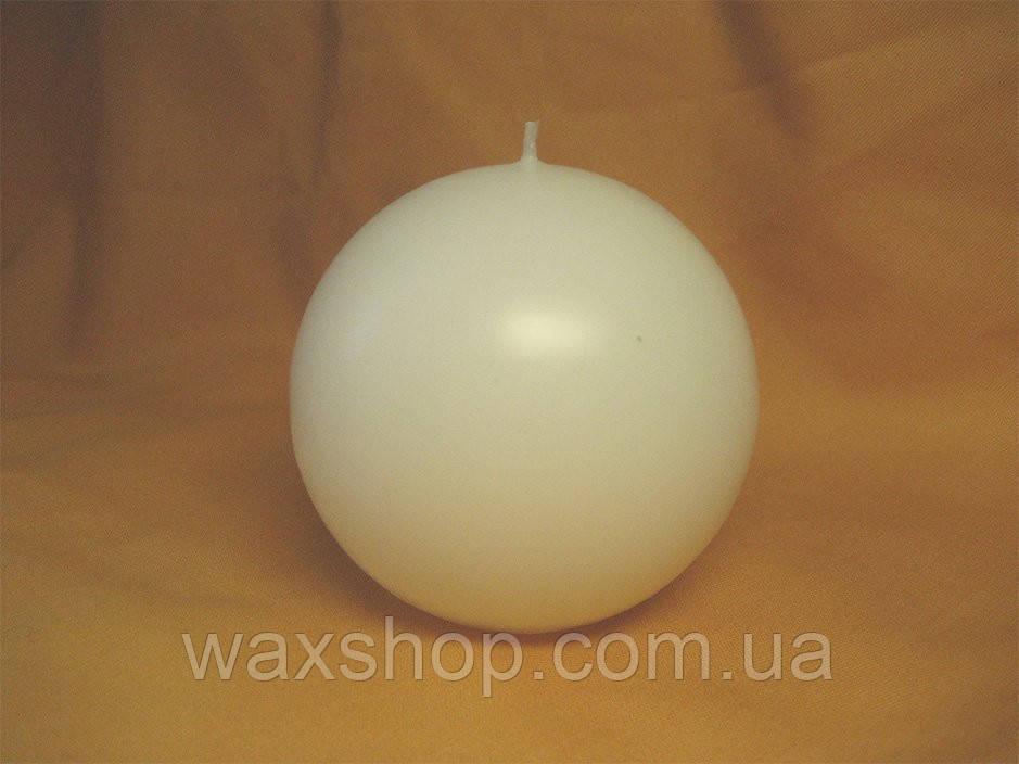Свеча шар 7 см Молочный