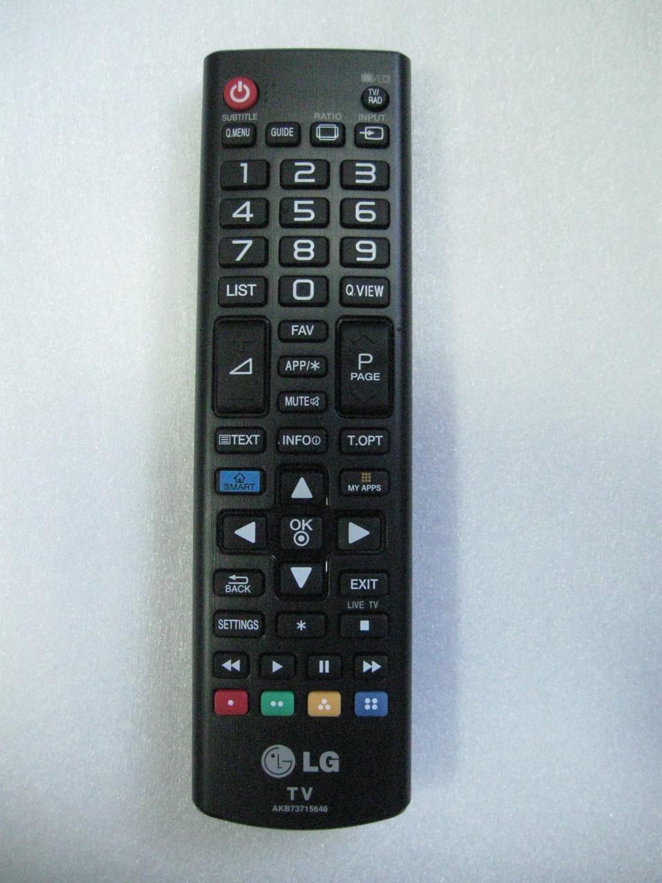 Пульт управления для телевизора LG AKB73715646