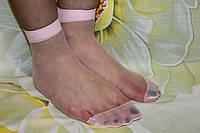 Носки капроновые женские розовые