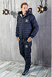 Мужской зимний костюм плащевка на синтепоне, фото 2