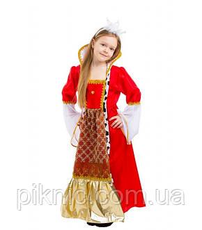 Костюм Королева 5,6,7,8,9,10 лет. Детский новогодний карнавальный костюм для девочки 344, фото 2