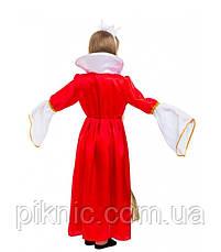 Костюм Королева 5,6,7,8,9,10 лет. Детский новогодний карнавальный костюм для девочки 344, фото 3