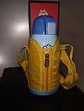 Термос детский питьевой с трубочкой и термочехлом Принцесса София 500 мл., фото 5