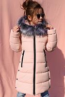 Детское зимнее пальто Вики