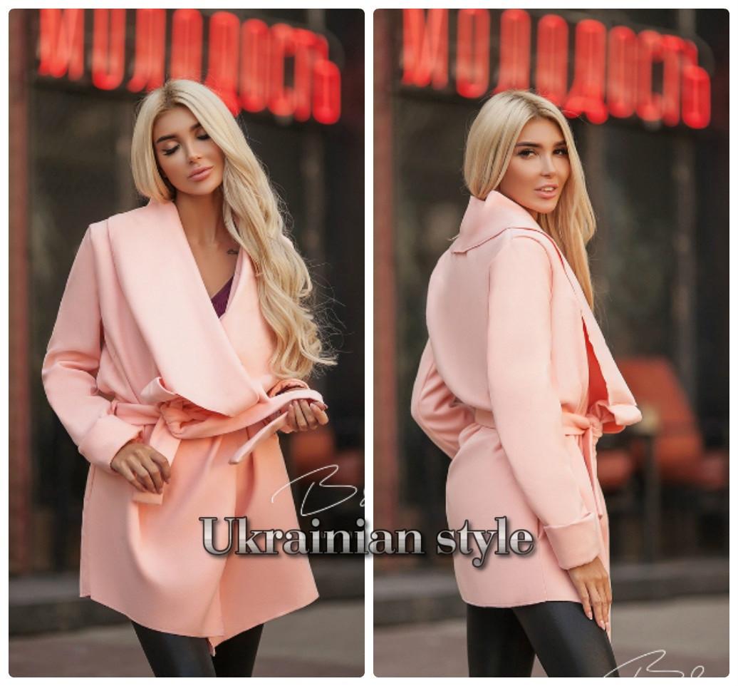 Женское кашемировое пальто-кардиган с поясом  продажа 05253b8972c44