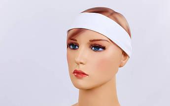 Повязка Х-б на голову (1шт) (хлопок, эластан, безразмерная, цвета в ассортименте)