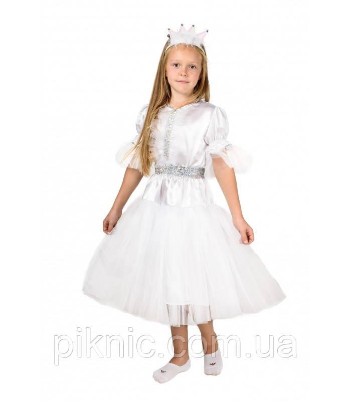 Костюм Снежинка на 4-7лет. Детский карнавальный новогодний костюм для девочек