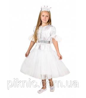 Костюм Снежинка на 4-7лет. Детский карнавальный новогодний костюм для девочек, фото 2
