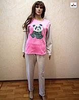 Пижама зимняя женская теплая молодежная 42-54 р.