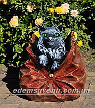 Садовая фигура подставка для цветов Саквояж большой и Саквояж малый, фото 2