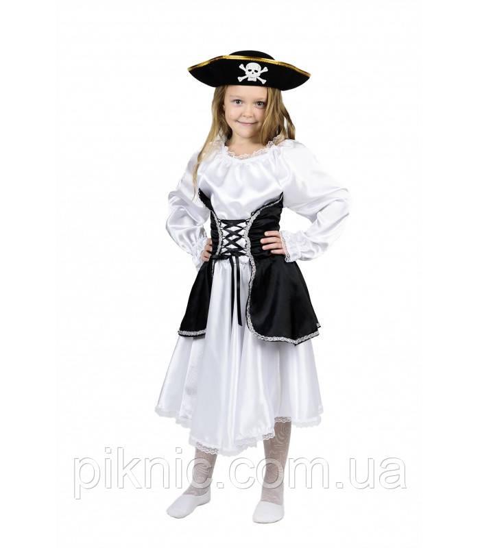 Костюм Пиратка 5,6,7,8,9 лет Детский новогодний карнавальный костюм для девочки 344