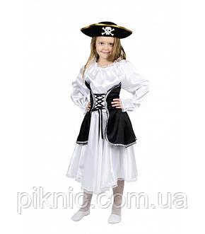 Костюм Пиратка 5,6,7,8,9 лет Детский новогодний карнавальный костюм для девочки 344, фото 2