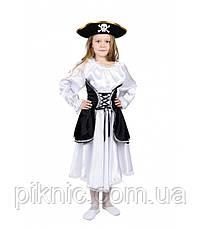 Костюм Пиратка 5,6,7,8,9 лет Детский новогодний карнавальный костюм для девочки 344, фото 3