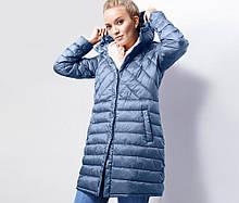 Мягусенькое стеганное пальто от тсм Tchibo (Чибо), Германия, размеры укр от 42 до 48