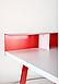 Компьютерный стол Mayakovsky красный/белый, TM AMF, фото 6