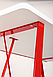 Компьютерный стол Mayakovsky красный/белый, TM AMF, фото 9