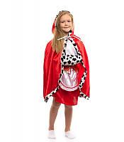 Костюм Герда для девочки 4,5,6,7,8,9 лет. Детский новогодний карнавальный маскарадный костюм на Новый Год