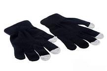 Перчатки iGloves сенсорные Черные, фото 2