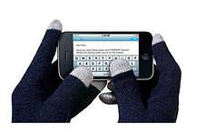 Перчатки iGloves сенсорные Черные, фото 3