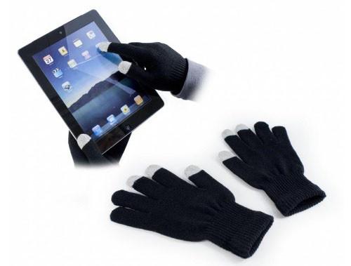 Перчатки iGloves сенсорные Черные