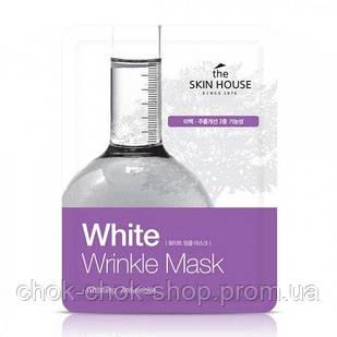 1+1 Тканевая маска против морщин и пигментации THE SKIN HOUSE White Wrinkle Mask