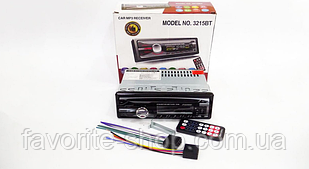 Автомагнитола 1DIN MP3-3215BT RGB Bluetooth