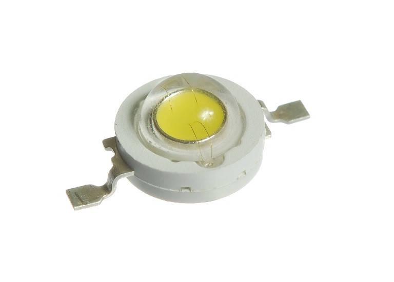 Светодиод 1 вт белый (6000К) ВIN1
