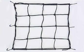 Багажная сетка Паук (резинка, р-р 40см х 40см)