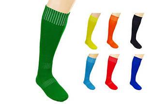 Гетры футбольные мужские (полиэстер, размер 40-45, цвета в ассортименте)