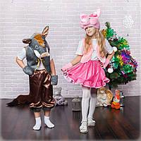 Новогодний костюм Поросёнок Хрюшка девочка