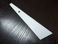 Пластиковая лопатка 40 мм цвет белый