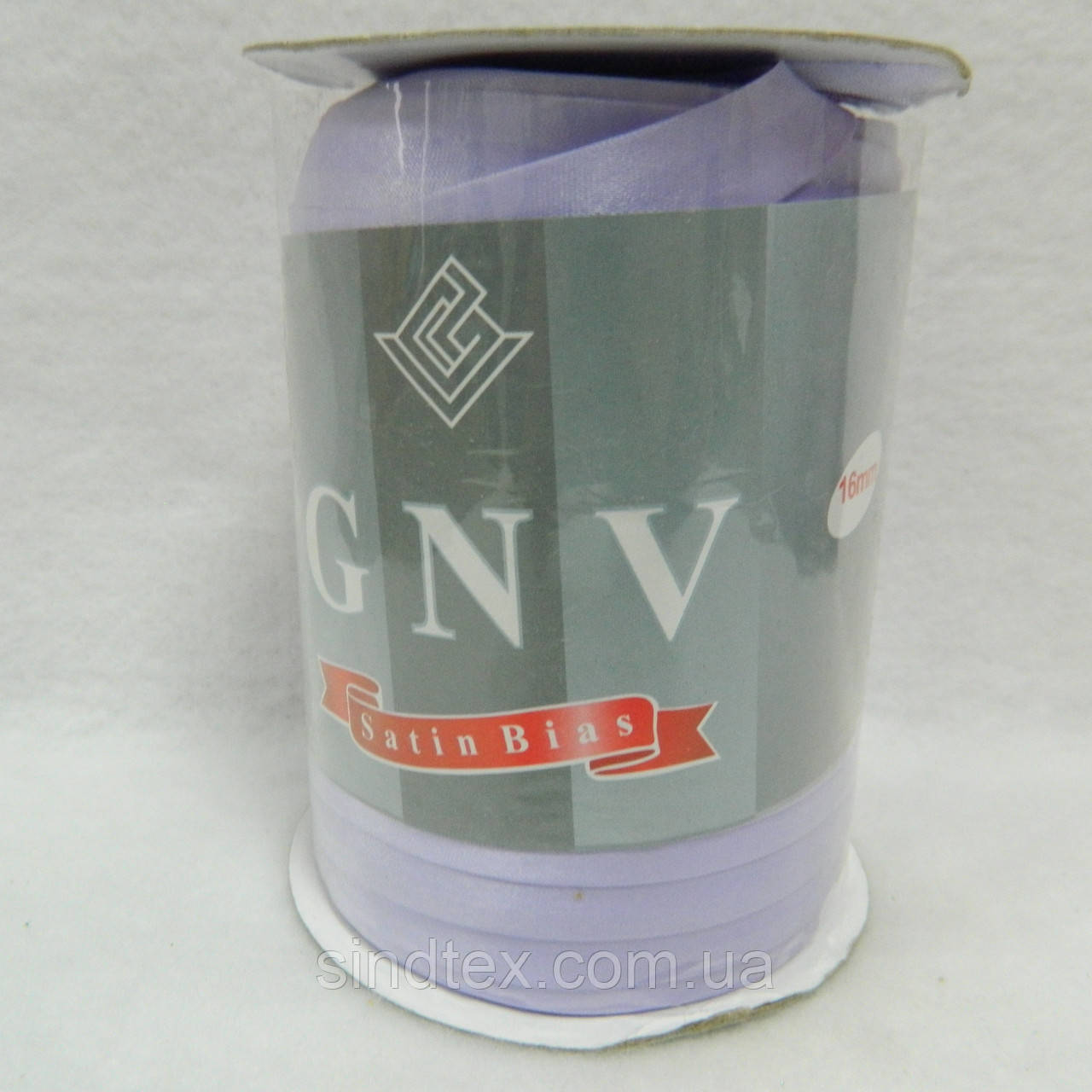 106 облямівки атласна (satin) GNV SQ, світла бузок, 144 ярду