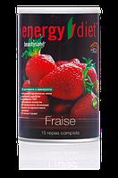 Коктейль Клубника Енерджи Диет Energy Diet HD банка быстро похудеть коррекция веса без диет и голода Франция