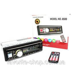 Автомагнитола 1DIN MP3-8500BT RGB Bluetooth
