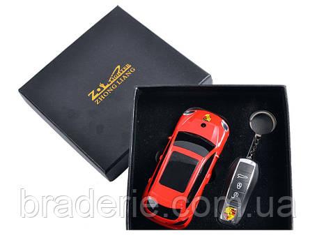 Подарочный набор сувенирная зажигалка и брелок-зажигалка Porsche Cayenne 4426, фото 2