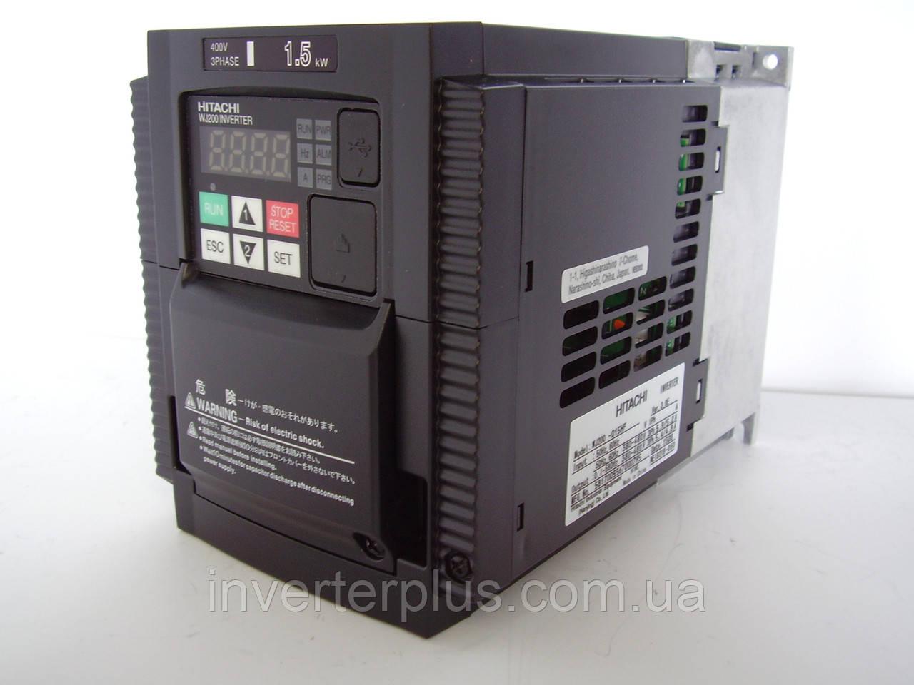 WJ200-015HF; 1,5кВт/380В. Инвертор Hitachi