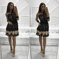 da9b18c4a85 Платье вечернее Платье (Фабричный Китай) качество люкс качество люкс ткань  кружево втет №4963