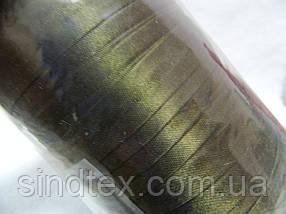 016 Косая бейка атласная (satin) Star Bias, т.оливка, 144 ярда, фото 2
