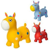 Прыгуны-лошадки MS 1582, 1300г, 3 цвета, в кульке, 29-25-10см