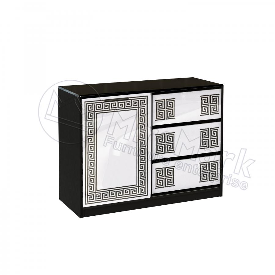 Комод Виола (1 дверь, три ящика) Миро-Марк