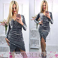 Женское стильное платье (5 цветов), фото 1