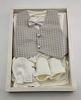 Набор для новорожденных 0-4 месяцев подарок, костюм для новорожденного