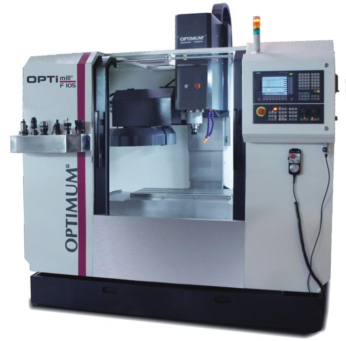 Фрезерный станок по металлу с ЧПУ OPTImill F105