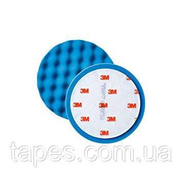 3М 50457 Синий ультратонкий многоразовый поролоновый полировальник 75 мм