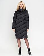 | Зимний воздуховик женский с карманами . Черный (44,  46,  58 )
