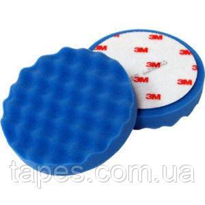 3М 50389 Синий полировальник для антиголограммной пасты Ultrafina 50383, 203 мм