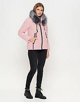 Женская куртка зимняя пудра   ( M -48 XL-52)
