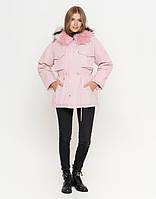 Куртка женская зимняя розовая  (   L )